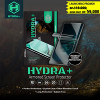 HYDRA+ Redmi Note 8 - Anti Gores Hydrogel - Tempered Glass Full - Depan