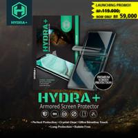 HYDRA+ Samsung Galaxy A50 - Anti Gores Hydrogel - Tempered Glass Full - Depan