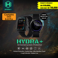 HYDRA+ Apple Watch Series 1 2 3 - Anti Gores Hydrogel - Tempered Glass