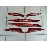 KSH Striping Mio sporty 2012 Merah