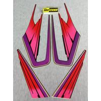 KSH Striping Sticker Lis Motor Yamaha RX King 1995 2