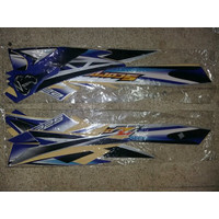 KSH striping stiker lis yamaha scorpio Z th 2008 biru silver