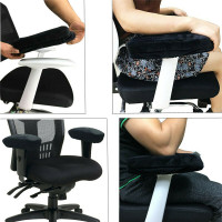 Gaming air Armrest Pads Soft Memory Foam Elbow Pillow Support for