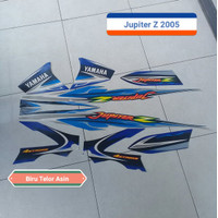 KSH Sticker Striping Yamaha Jupiter Z 2005 Biru Telor Asin