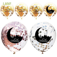 Lanf 5Pcs Balon untuk Dekorasi Tahun Baru Imlek