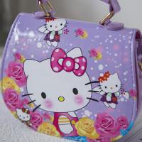 Tas Handbag Desain Hello Kitty untuk Anak