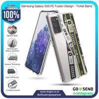 Ringke Samsung Galaxy S20 FE Fusion X Ticket Band Softcase Anti Crack