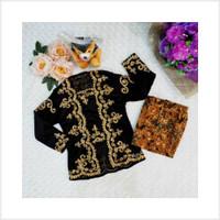 Paling Laris Kebaya anak bludru set rok batik baju karnaval kostum ana