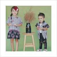 Super Promo Couple batik anak cewek cowok motif ayam bahan katun prima