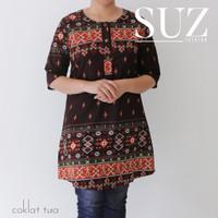 TERBUKTI SUZ Atasan Blouse Batik Wanita songket 34992 AVS