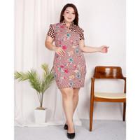 TERB4RU Jo & Nic JESSICA Dress Batik Cheongsam Jumbo Big Size BUA