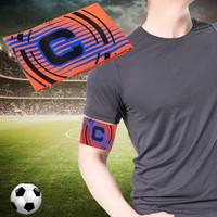 Ujiang Band Kapten Sepak Bola Warna-Warni Fleksibel Adjustable Untuk