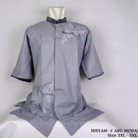 STS Baju Koko Bordir BIG SIZE JUMBO 9 Fashion Muslim Atasan Muslim Pri