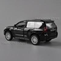 Prado Toyota Tarik Diecast Mobil Mainan Kembali Logam Koleksi Model SU