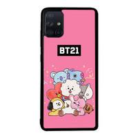Case Casing Samsung Galaxy A71 21 Cute All Character O7512