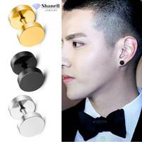 [SH104] Shanell Jewelry Lapis Emas Anting Tindik Pria