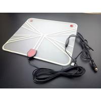 Antena TV Penerima Satelit Indoor Digital 4K HD Transparan untuk VHF