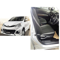 Sarung Jok Oscar Khusus Mobil Avanza 2014 Airbag Hitam Berkualitas