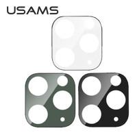 Usams Camera Tempered Glass Iphone 11 Pro Max Anti Gores Kaca Absorber - Hitam
