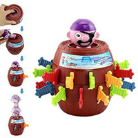 Man Barrel TOY Size Pirate Roulette Up Pop S XL Running Lord Game