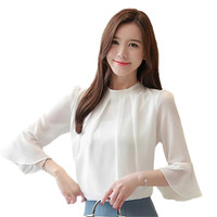 STS Rafarah MOAN Baju Atasan Wanita Blouse Wanita Blouse Putih Baju Wa