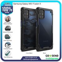 Ringke Samsung Galaxy M51 Fusion X Softcase Hybrid Anti Crack Military