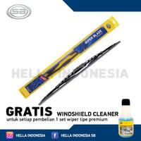 Hella Wiper Premium Datsun Go+ & Go Panca GRATIS Windshield Cleaner