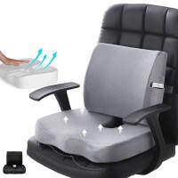 Bantal Alas Duduk Memory Foam Untuk Kursi Kantor/Mobil