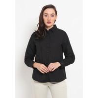 The Executive Long Sleeves Shirt 5-BLWKEY120E025 Black