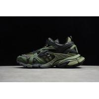 BALENCIAGA Track 2 Sneakers Black/Army Green (35-46)