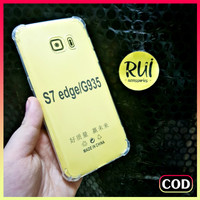 Anti Crack Samsung S7 Edge / G935 Case Bening Anticrack Jelly Softcase
