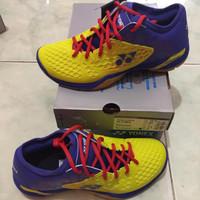 hot sales Sepatu Badminton Yonex SHB 03 Z Men YellowBlue Original