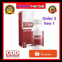 TERLARIS Maca Original Jundo Macca - JUNDO MACCA - Maca Obat Herbal