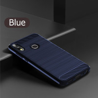 For Asus Max ProM2/ZB631KL Carbon Fiber Soft TPU Protective Case