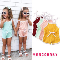MG-Baby Girl Cotton Clothes Romper Bodysuit Jumpsuit One Piece