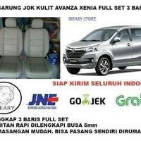 Sarung Jok Mobil GRAND LIVINA Kulit Syntetic Full 3 Baris Termurah
