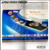 NAKAI DVD VCD MPEG4 MP3 MP4 CD JPEG PLAYER USB PORTABLE (NEWS)