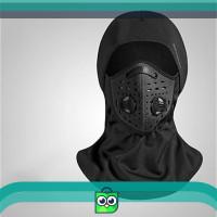 ROCKBROS Balaclava Baff masker Kain Hitam mask slayer bandana Motor
