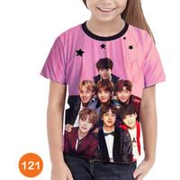 Kaos BTS Printing 3D Baju Anak Kpop Cewe Murah Meriah #121