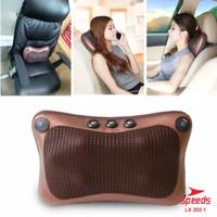 Bantal Pijat Leher Pinggang Portable Mobil/Rumah Baleno