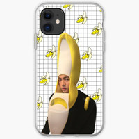 Casing iphone 11 Pro Max BTS Jin banana phone 8 Plus case