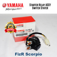 Bendik Relay Starter Assy Swit Stater Motor Fizr Scorpio Asli Yamaha