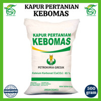 DISKON KAPUR PERTANIAN KEBOMAS 500 GR (REPACK) - DOLOMITE / DOLOMIT /
