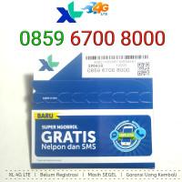 Kartu Perdana Nomor Cantik XL 4G LTE 0859 6700 8000