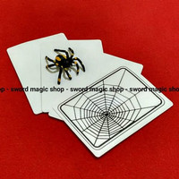 Alat Sulap Spider Card - The Web Magic - Sulap Jahil - Toko Sulap