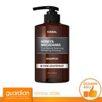 KUNDAL Honey & Macadamia Nature Shampoo Pink Grapefruit 500 ml