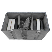 New 65L Storage Bag Organizer Non-woven Fabric Bamboo Clothing