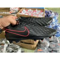 Jual Sepatu Bola Nike Tiempo Legend 8 Pro Black Red FG Murah