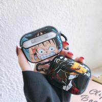 Case Pelindung Airpods Pro 3 Motif Kartun Anime One Piece Luffy Jepang