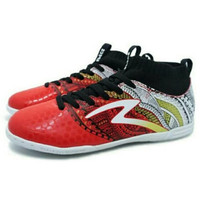 Promo Sepatu Futsal Specs Heritage IN (Emperor Red/Gold/White) Diskon